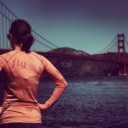 Strikin' a pose at the Golden Gate Bridge