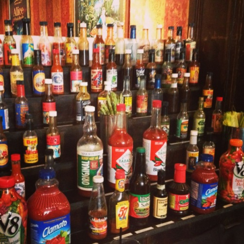 Hot Sauce, anyone? [Ashley's Picture]