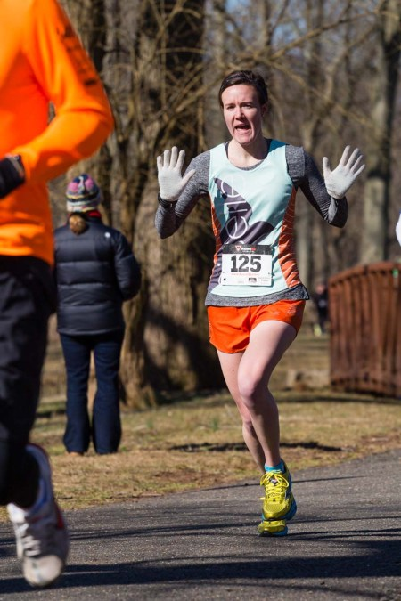 What, you don't throw up jazz hands while you race?
