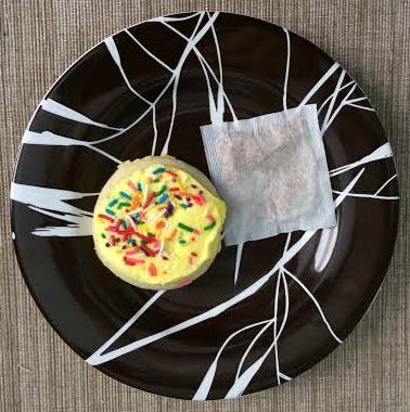 Sugar cookie, sugar cookie tea. Both delicious.