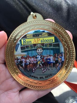 Sweet medal, wouldn't you say?