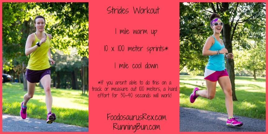 Sprints Workout | FoodosaurusRex.com & RunningBun.com