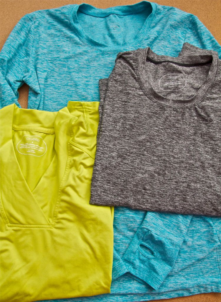 Favorite base layers - Oiselle Lux Layer & Oiselle Rundelicious