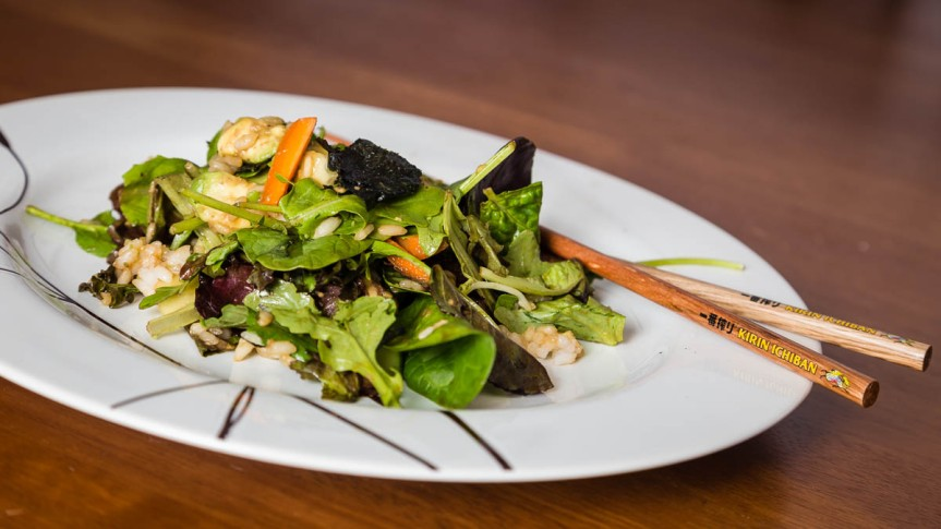 Sushi Roll Salad | FoodosaurusRex.com