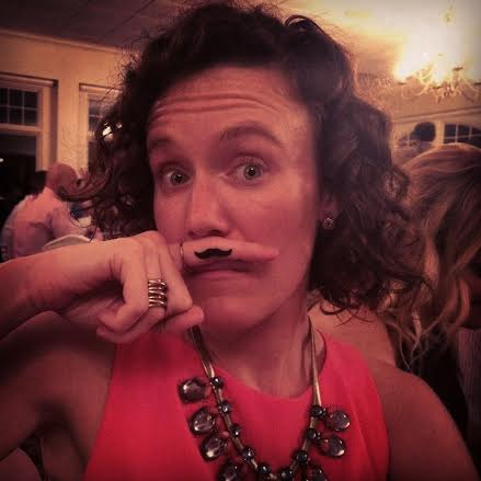 Mustaches of some sort are a requirement at weddings with me... sorry?