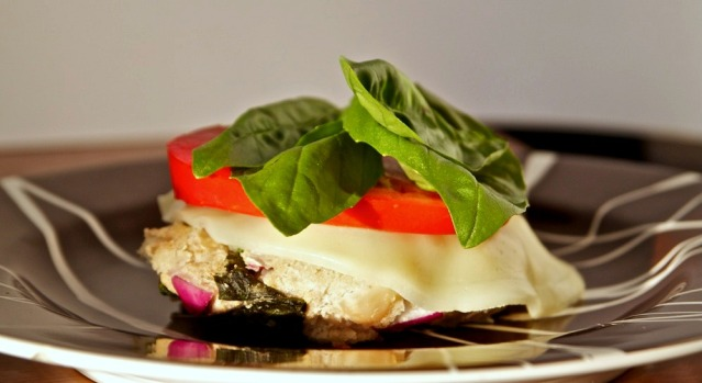 White Bean Basil Burger | FoodosaurusRex.com