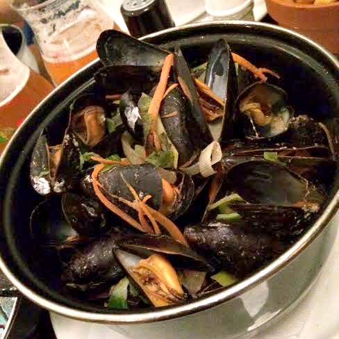 Mussles from Brussels (not to be confused w. Jean Claude Van Damme)