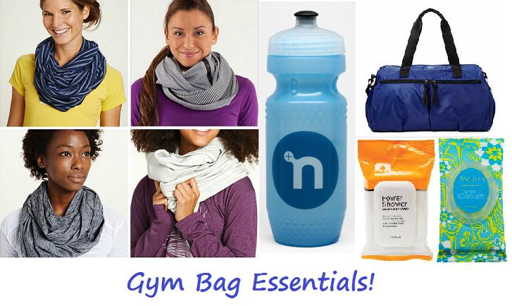 Gym Bag Essentials | FoodosaurusRex.com