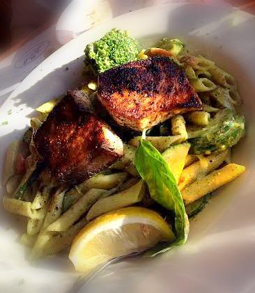 Pasta at Pier Market Sustainable Fish